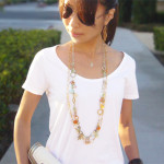 daily buzz style 9×9 : classic white t-shirt