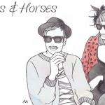 header design : hats & horses
