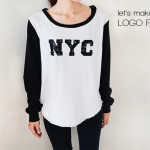 diy : personalized logo top