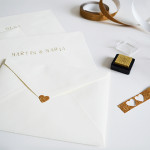 diy : personalized envelopes