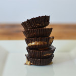 vegan : chocolate almond butter cup