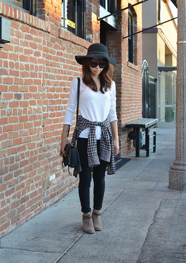 floppy hat look