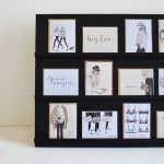 greeting card display diy