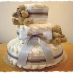 my first diaper cake