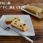 miso pound cake – no egg, no butter