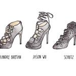 trend alert : lace up sandal