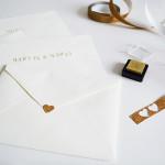 diy : personalized envelopes