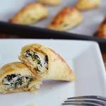 ricotta cheese & spinach pie