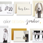 fashion illustration greeting cards