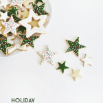 holiday icing cookies